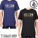 VOLCOM ボルコム tシャツ メンズ 【T Mark S/S 】半そで VOLCOM 【返品種別OUTLET】
