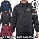 volcom ボルコム コーチ ジャケット メンズ 【TTT Boards Boa Coach Jkt 】 コーチジャケット アウター トップス 【メール便不可】