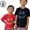 volcom ボルコム キッズ Tシャツ 3-7歳 Chill Face S/S Tee Little Youth ユース 半そで Y3511804 【返品種別OUTLET】