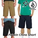 ショッピングハーフパンツ volcom ボルコム ショートパンツ Frickin Chino Short メンズ A0911600 【返品種別】