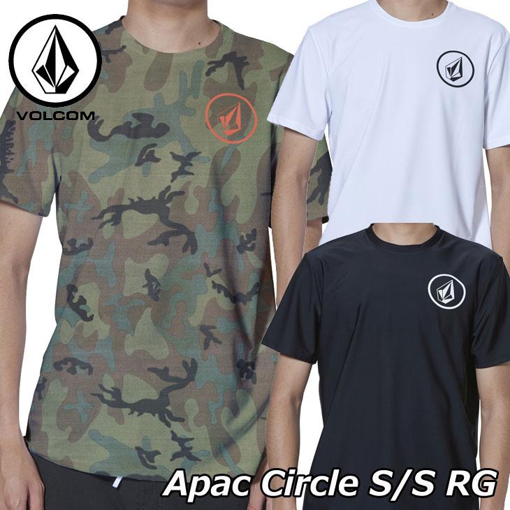 volcom ボルコム ラッシュガード Apac Circle S/S RG メンズ Japan半袖 N01119G0 2019 春 夏 新作