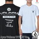 volcom ボルコム tシャツ Apac Volcom TTT S/S Tee メンズ Japan半袖 AF5119G3 【返品種別OUTLET】