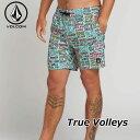 volcom ボルコム サーフパンツ True Volleys 17 メンズ 海パン A2511900 【返品種別OUTLET】