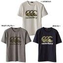 橄欖球 - ☆ネコポス対応可☆T-SHIRT(半袖Tシャツ) RA37409【canterbury】カンタベリー ライフスタイルウェア