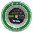 バドミントン ロールガット 100m ナノジー99ヨネックス NBG99-1-011