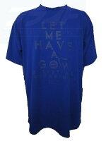 ☆ネコポス対応☆ BASIC T-SHIRTS (半袖Tシャツ) BT1032-RYL 【BALL LINE】ボールライン (オンザコート) バスケットウェアの画像