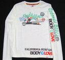 BODYGLOVE(ボディーグローブ )レディース長袖Tシャツ370-1013