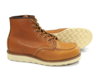 Red Wing 9875 モックトゥゴールド / reset [Irish setter dog tags reprint model] [FL]