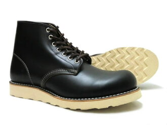 "Red Wing 9870 round toe black ""クローンダイク"", ""Irish setter dog tag model] [FL]"
