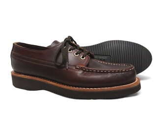 Russell moccasin phishing Oxford RUSSELL MOCCASIN FISHING OXFORD chrome Excel Leather Brown 1272-7 [FL]