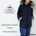PYRENEX ピレネックス レディース ダウンジャケット GRENOBLE JACKET LADIES HWK037 グルノーブル ジャケット〔SF〕