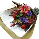 花 【フロレアル】ベーシックブーケLサイズ(6色から選べます!)【あす楽対応】【楽ギフ_包装】【楽ギフ_メッセ入力】花束 ブーケ 誕生日 お祝い 御祝 歓迎 送別 バラ プレゼント フラワー ギフト