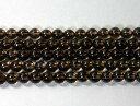 天然石8.5mm a0821 スモーキークォーツ 約38-40cm(石・天然石・パワースト...