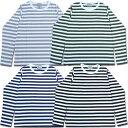 【メール便可】D.M.G ドミンゴ DMG 19-021N オリジナルボーダーロングTEE ロンT ボーダー Tシャツ カットソー 長袖 クルーネック 天竺 Made in JAPAN 日本製 10P03Dec16