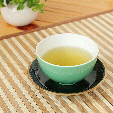緑 丸煎茶【和食器・伏せ焼き・軽量・アウトレット・多治見美濃焼・日本製】