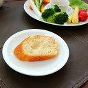 white bread plate【洋食器・強化磁器・白い食器・アウトレット・訳あり・多治見美濃焼・...
