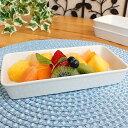 シンプル便利なスクエアトレー【洋食器・白い食器アウトレット・...