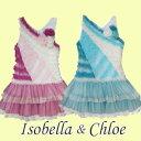 特価ドレス インポートベビードレス ピンク ブルー パーティー Isobella&Chloe(イゾベラアンドクロエ)チュールスカートのフォーマル ワンピース80cm 90cm 12ヶ月 18ヶ月 24ヶ月赤ちゃん 子供 キッズ[特価品につき返品交換はできません]