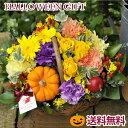 【あす楽】ガーベラとバラのガーデンバスケット【生花】アレンジ...