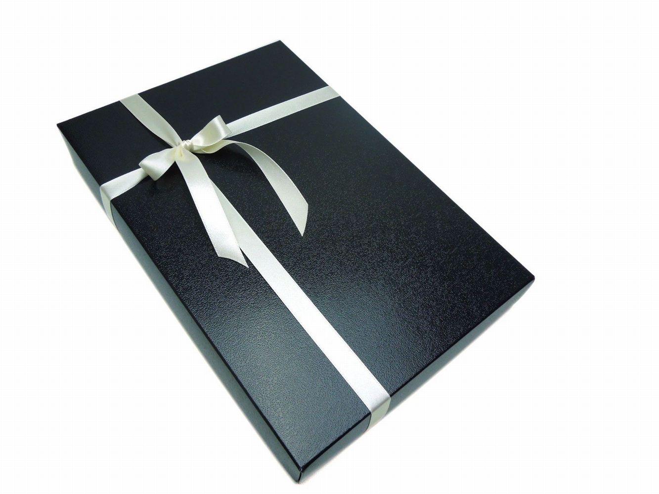 専用ラッピングBOX/GIFT-F☆マフラー、ネクタイ2本セットのプレゼントにいかがですか?05P03Sep16