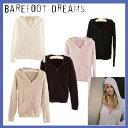 【あす楽】ベアフットドリームス [515]Women's パーカー barefoot dreams Zip-Up Hoodie マイクロファイバー カシウェアのような【楽..