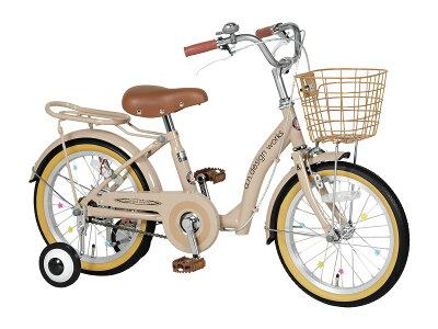 【送料無料】自転車18インチ女の子男の子UP18子供用自転車子供自転車幼児自転車子ども自転車ジュニアキッズバイク補助輪おしゃれおすすめキッズサイクル[a.n.designworks]【カンタン組立】