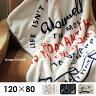 NUAGE Blanket 120×80cm ブランケット ひざかけ ストール ロゴ デザイン ファッション レディーズ 防寒 アウトドア