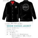 【入荷】16-17 NEW graysnowboards グレイスノーボード SNOW COARCH JACKET コーチジャケット 撥水 リフト券ポケット付き...