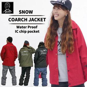 スノーボード コーチジャケット COACHJACKET ポケット ファスナー レディース フクロウ