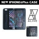 【Alive Athletics】【iPhoneケース】NEW!!ALIVE (アライブ) iPhone6Plus Case (アイフォン6プラスケース)手帳型ケース春夏NEW【メール便対応可】