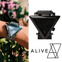【Alive Athletics】ALIVE アライブ A-FRAME future(Aフレーム)フューチャー ALL BLACK ALL SLIVER湯川正人プロデュース 三角形 ステンレス