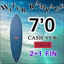 【送料無料】WATER RAMPAGE ウォーターランページ サーフボード CASH-YEW 7'0 ファンボード ソフトボード スポンジボード ALMOND