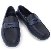 プラダ PRADA 靴 メンズ ドライビングシューズ ローファー ネイビー×ブラック (2DD001 SAFFIANO BICOLO BALTICO+NERO)【あす楽対応】