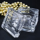 ショッピング収納ボックス 訳あり ガラス製 小物ケース キャンドルホルダー クリア (H085500 クリア)