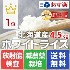 無洗米 부 홋카이도 5kg 화이트 라이스 無洗米/현미/백미 선택 (오키나와와 낙도를 추가 요금으로 발송) 02P01Sep13