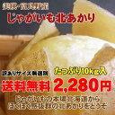 【訳あり送料無料】北海道じゃがいも北あかり(10kg)...