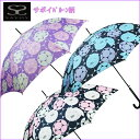 【あす楽】SAVOY サボイバルーン柄 60cm ワンタッチジャンプ傘 女性用 レディース 長傘