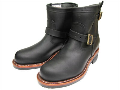 "CHIPPEWA9100211""ENGINEERBOOTS/���ڥ�9100211""���󥸥˥��֡���/BLACK"