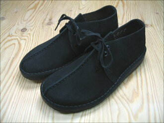 In the promise of CLARKS DESERT TREK #36440 BLACK SUEDE product arrival report view