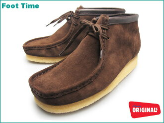 In the promise of Clarks Wallaby boots CLARKS WALLABEE BOOT BROWN SUEDE product arrival report view