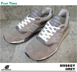 New balance M998GY NEWBALANCE M998GY GREY gray men's sneaker shoes
