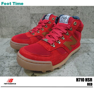 In the promise of the new balance H710 red Herschel EWBALANCE H710HSR HERSCHEL mens sneakers hikers product arrival report view