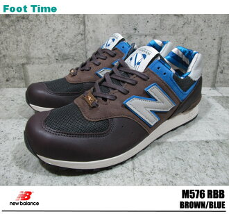 With the promise of new balance M576 BROWN/BLUE NEWBALANCE M576 RBB mens sneakers horse racing Jockey products arrival report view