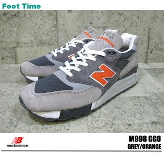 With the promise of new balance M998 GREY/ORANGE NEWBALANCE M998 GGO mens Sneakers Shoes product arrival report view
