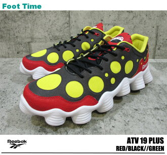 19 Reebok Reebok ATV PLUS RED/BLACK/GREEN/WHITE V53163