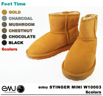 Women's Sheepskin boots emu STINGER MINI W10003 6COLORS EMU Stinger mini boots