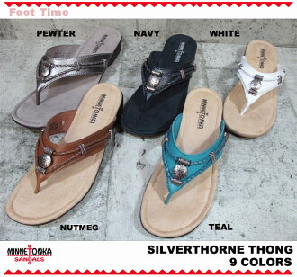 MINNETONKA SILVERTHORNE THONG Minnetonka Silverthorne thong 70000