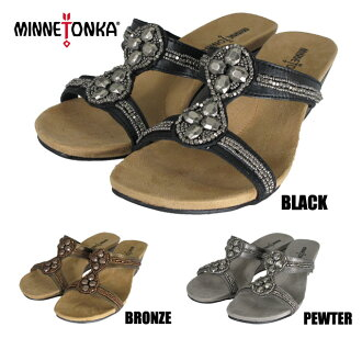 Minnetonka SOHO slide MINNETONKA SOHO SLIDE 71104 BLACK/BRONZE/PEWTER