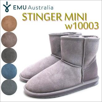 Women's Sheepskin boots emu STINGER MINI W10003 6COLORS EMU Stinger mini boots