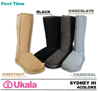 Second-line UKALA Sheepskin boots Sheepskin boots ukara EMU Sydney high UKALA SYDNEY HI W80001 4colors 2012 model